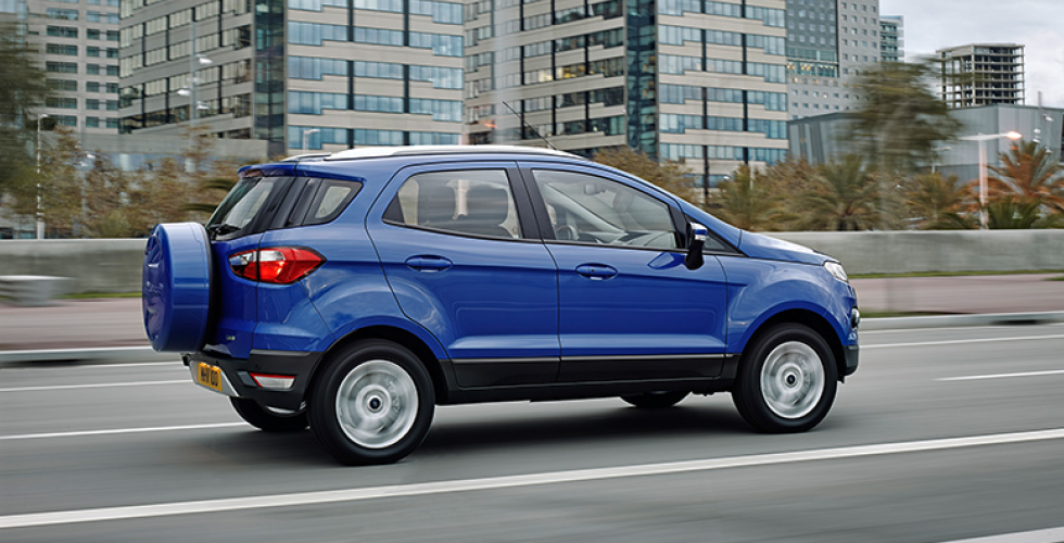 Ford EcoSport 2017 Price in India, Specifications, Mileage, Colors, Review