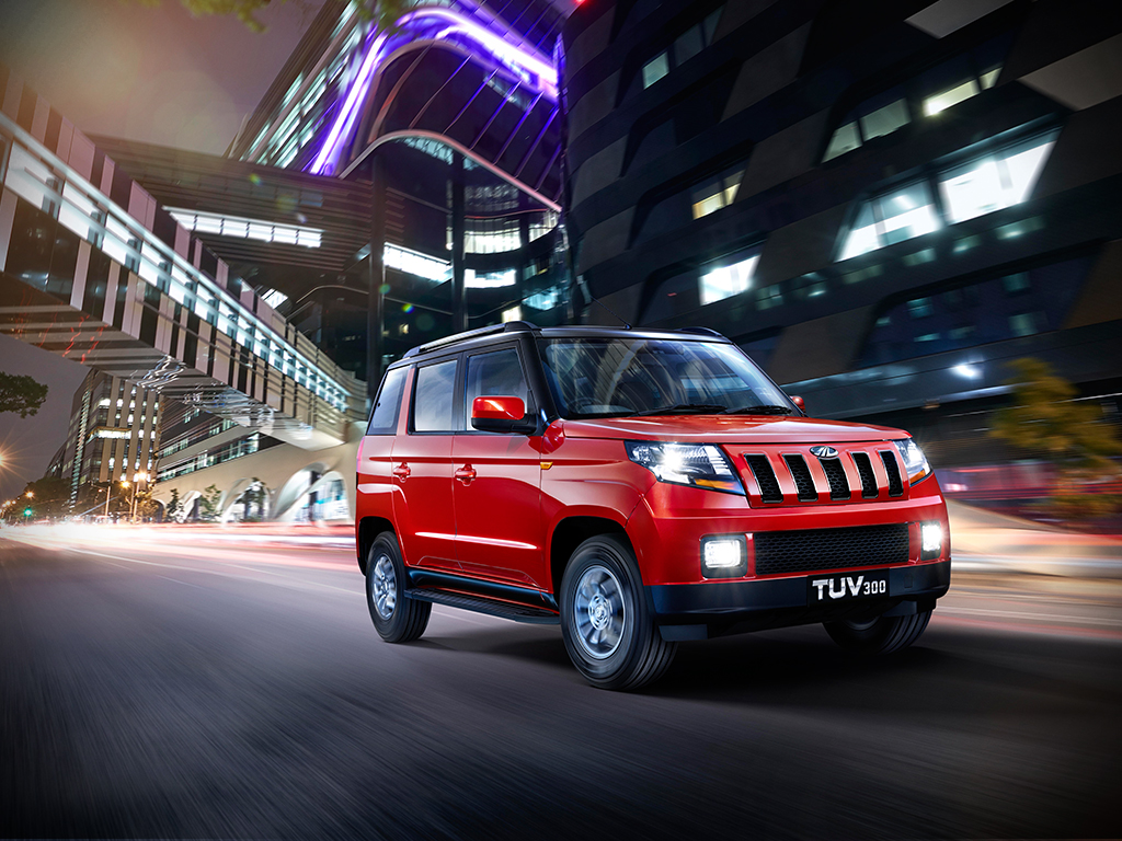 Mahindra TUV300 Specifications, Price, Mileage, Pics, Review